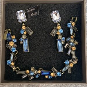 Bracelet and earring set from Banana Republic